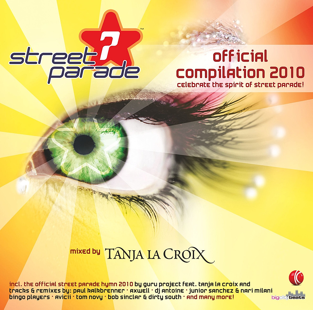 CD Street Parade - Compilation 2010