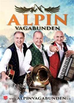 Aktogrammkarte Alpin Vagabunden Front oh