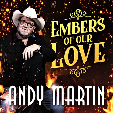 CD Andy Martin Embers Of Our Love