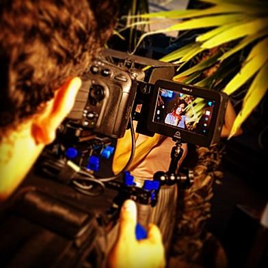 Dreharbeiten Musikvideoclip