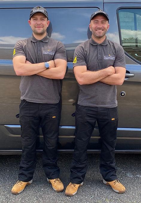 Ben & Alex from SureFlow Plumbing & heat