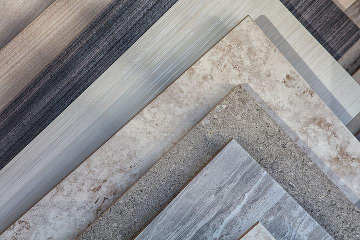 stone tile samples
