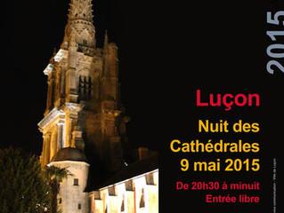 La nuit des cathédrales, à Luçon