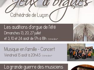 Les concerts de l'été à la cathédrale de Luçon