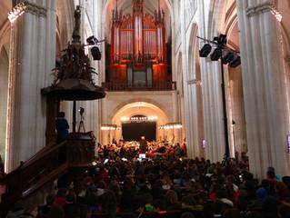 Orgue et orchestre sur TLSV