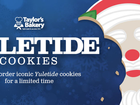 Time for milk and Yuletide cookies!