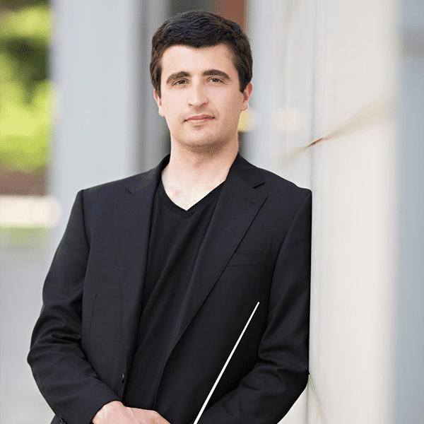 Associate Conductor of the ISO Jacob Joyce