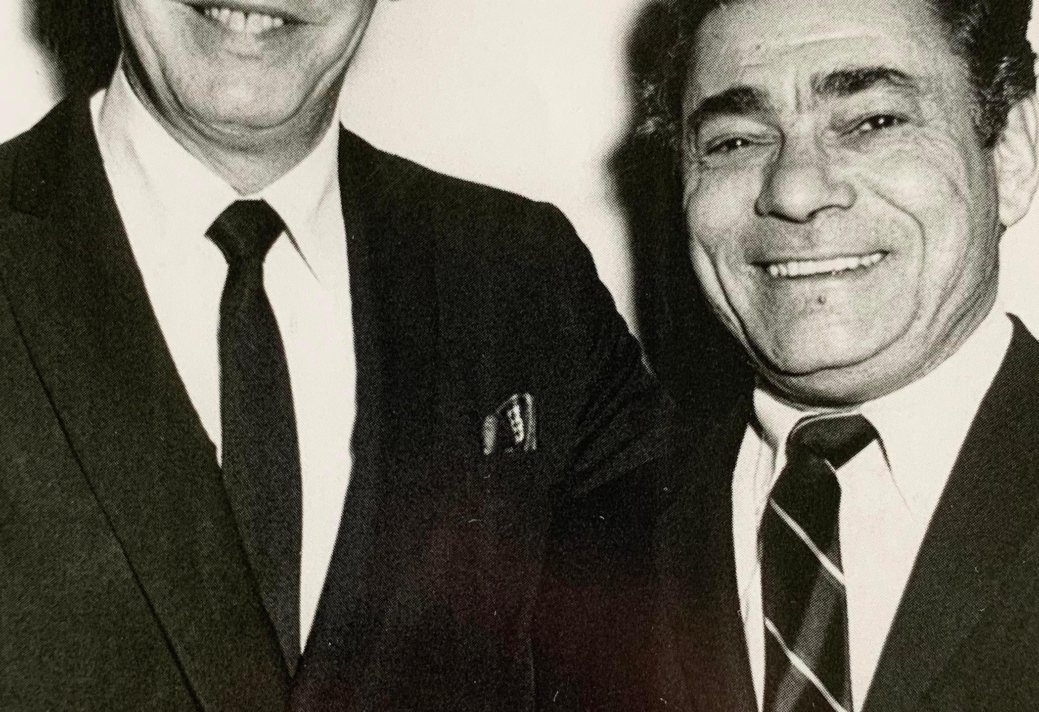 Milton Berle & Solomon, 1966