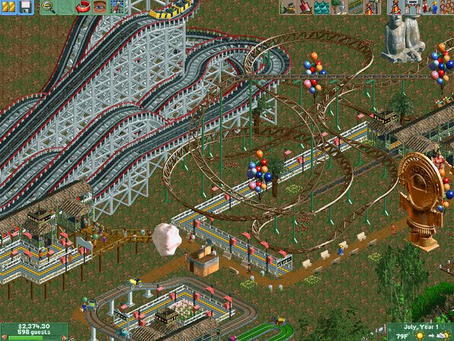 Roller Coaster Tycoon 2 - The Impact of Creative Freedom