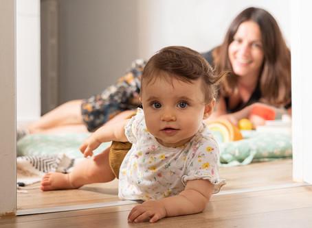 Rezé, une séance photo famille lifestyle à domicile.