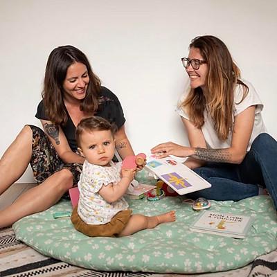 Mélanie, Faustine & Romy