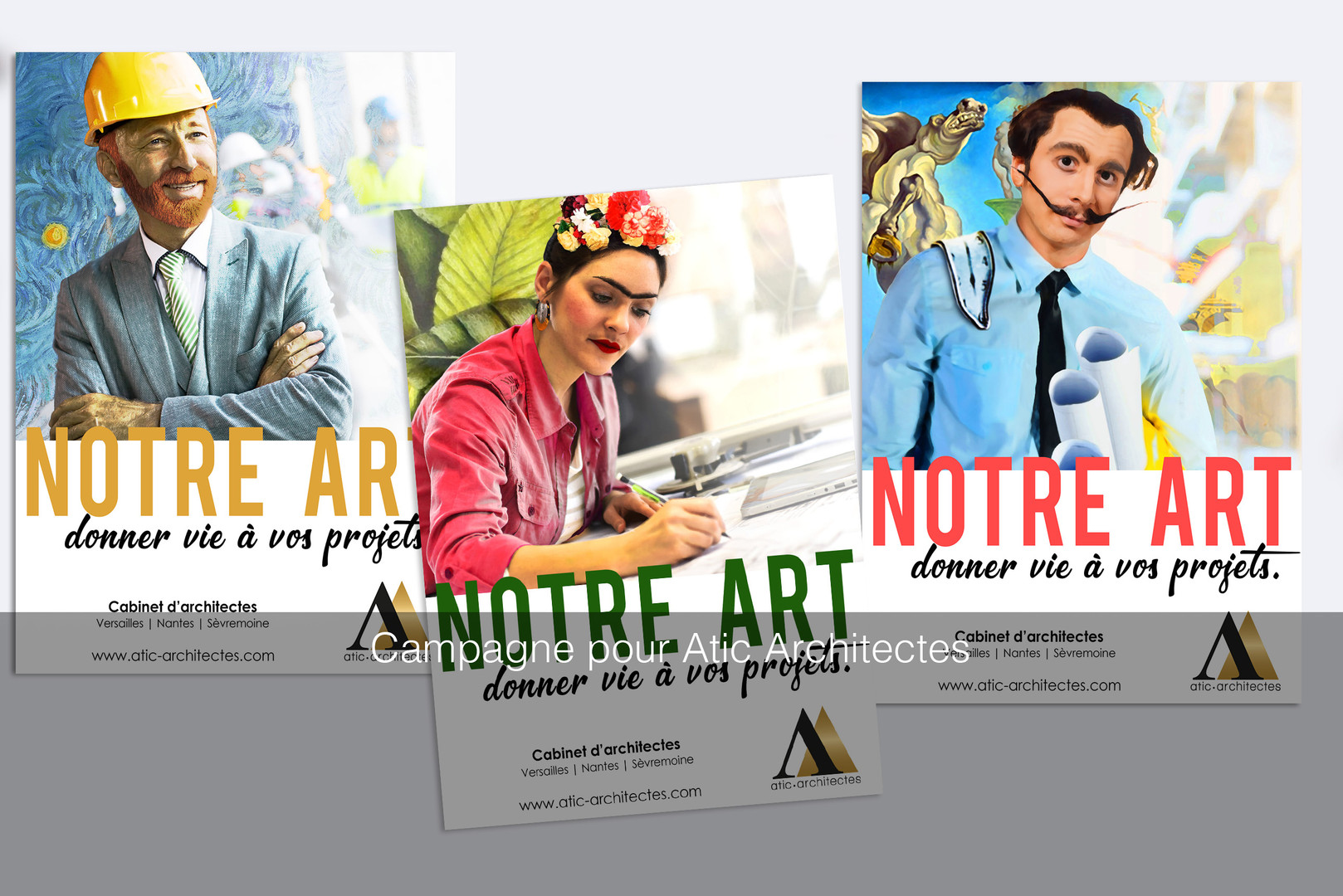 Campagne publicitaire pour Atic Architec