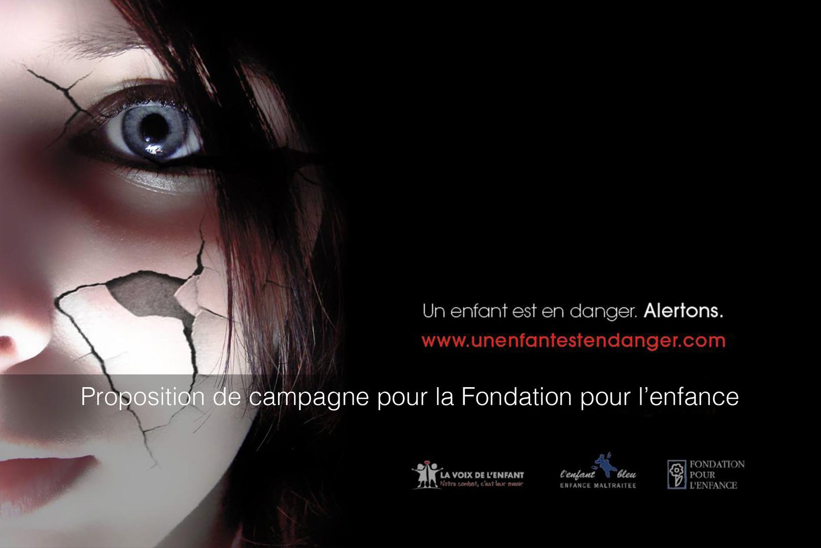 Campagne publicitaire pour la Fondation