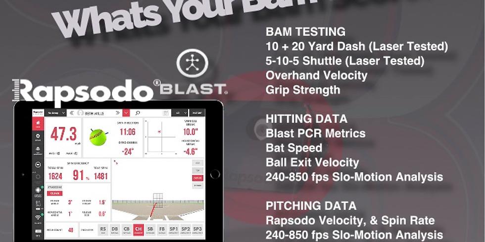 BAM Testing Event 2020 (8u/10u/12u)