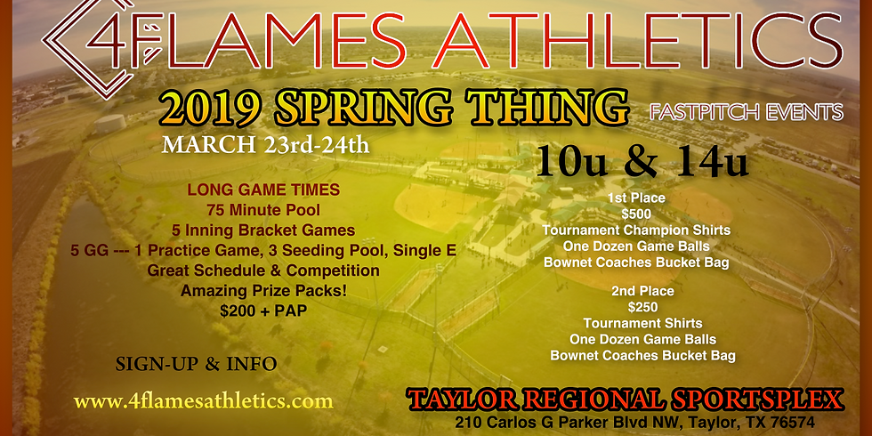 4FA SPRING THING TOURNAMENT