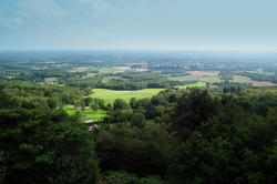 Leith Hill views North Downs