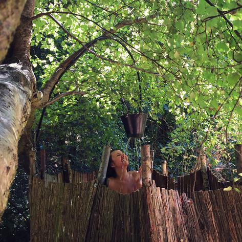 Secret tree shower