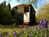 Shepherd hut accommodation