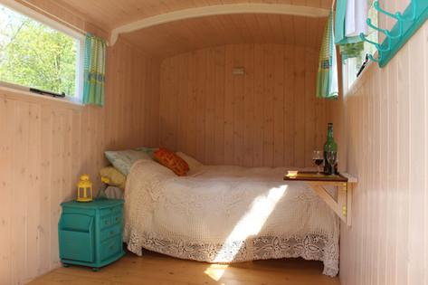 Cosy shepherds hut