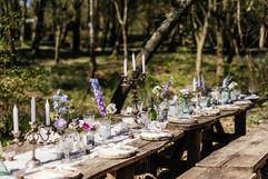 Dine beneath the trees