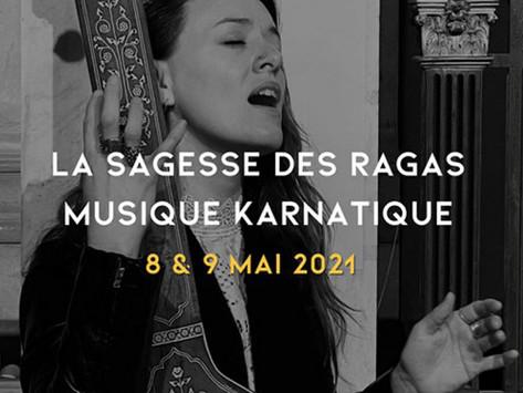 La sagesse des Ragas ~ Découvrez les Ragas de l'Âme en 5 modules de 2 jours avec Emmanuelle Martin