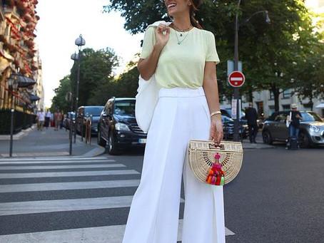 Maneiras Versáteis de usar a Calça Branca