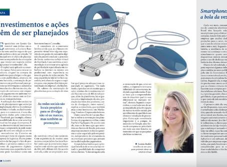 Luciana Rauber fala sobre E-Commerce para a Revista O Lojista, da CDL de Anápolis