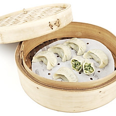 Vegetable Steamed Dumplings 素三鲜蒸饺