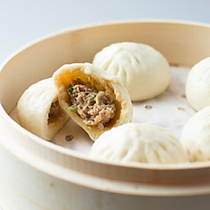 Steamed Pork Buns 鲜肉蒸包