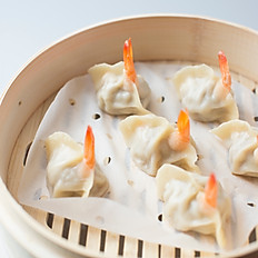 Shrimp & Pork Steamed Dumplings 鲜虾猪肉蒸饺