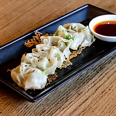 Fried Wonton w/ Spicy Garlic Sauce (6) 香煎蒜辣大馄饨