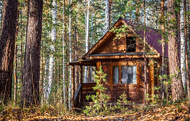 A log cabin in the Russian forest.jpg