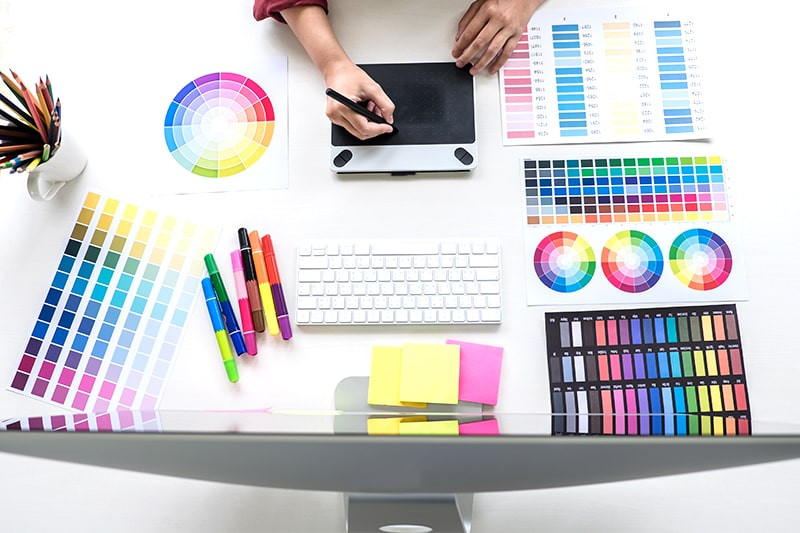 graphic designer work from home home office