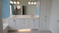 White Shaker Vanity