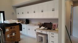 Satin White Cabinets