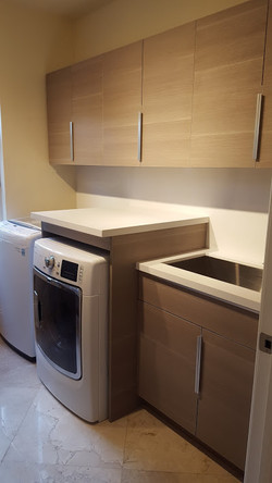 Melamine Laundry Room