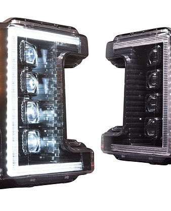 2017-2019 Ford Super Duty XB LED Headlights w/ Fogs