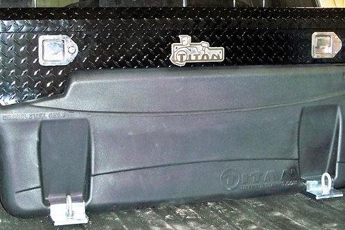 Compact Locking, Black Diamond Plate Aluminum, Toolbox (9901180)