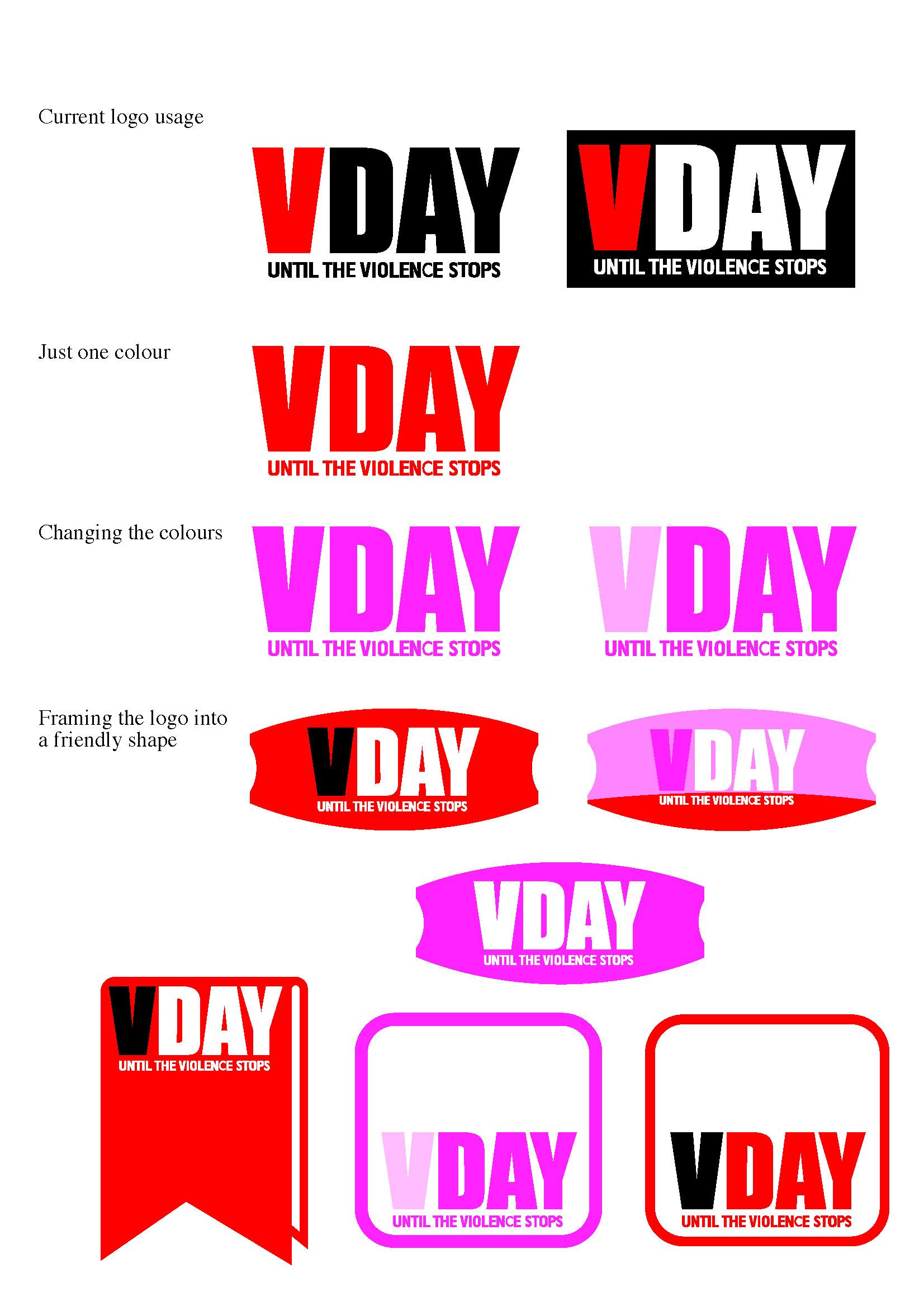 vday rebranding