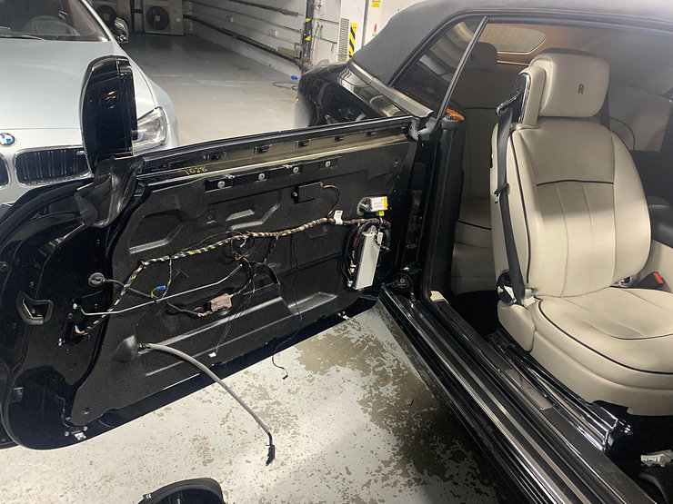 My Car Glass - Rolls Royce Phantom Door