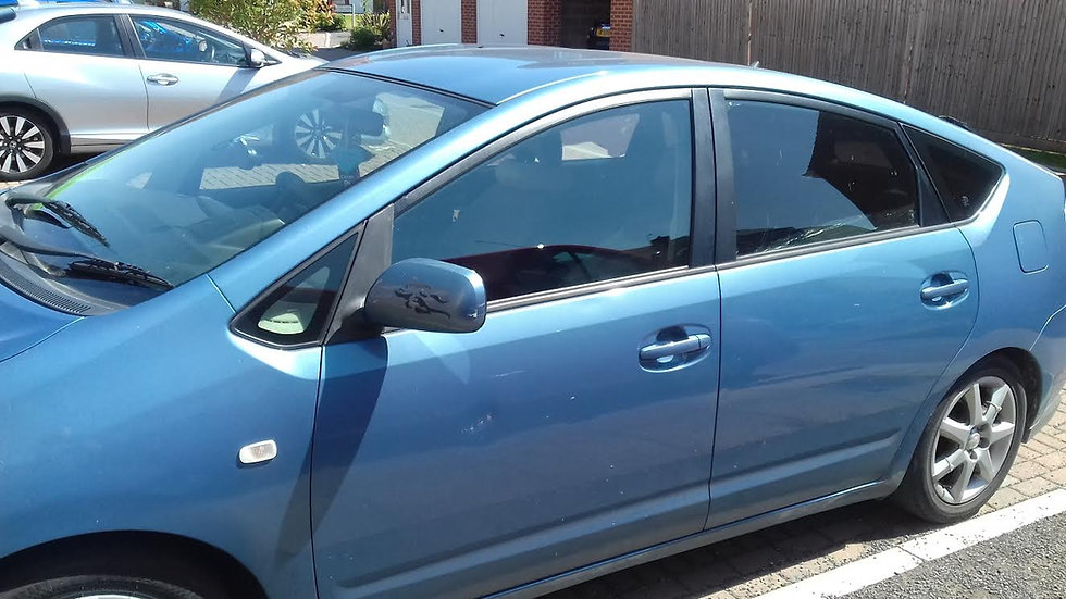 Toyota Prius Door Glass Replaced By My C