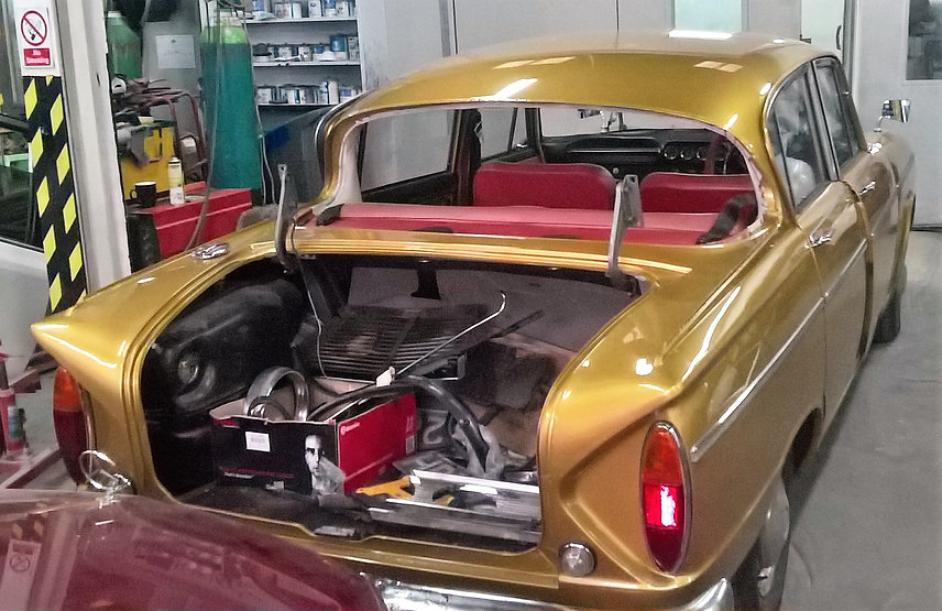 Humber Scepter Ready For Rear Screen - M