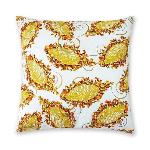 Coussin décoratif en tissus Wax africaine coloré - Dolisie