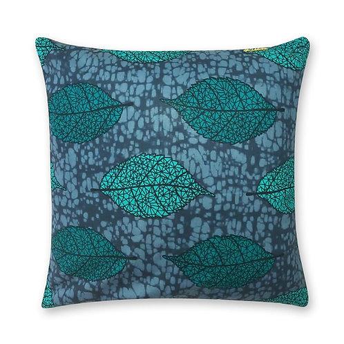 Coussin décoratif en tissus Wax africaine coloré - Tié-Tié