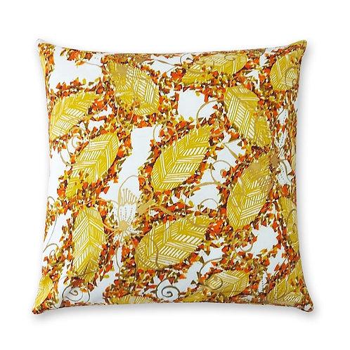 Coussin décoratif en tissus Wax africaine coloré - Ouesso