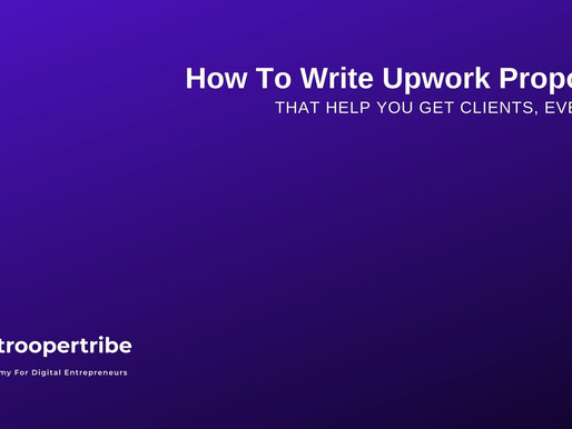 How to Write Upwork Proposals That Get You Clients [Every time]