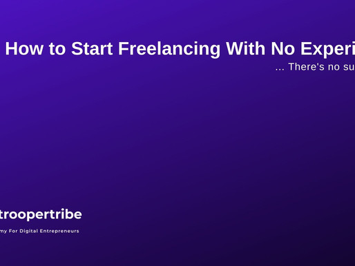 7 Steps on How to Start Freelancing with No Experience