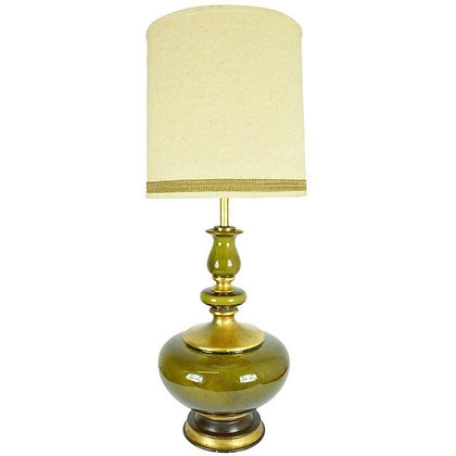 Beautiful Monumental Ceramic Glaze Lamp