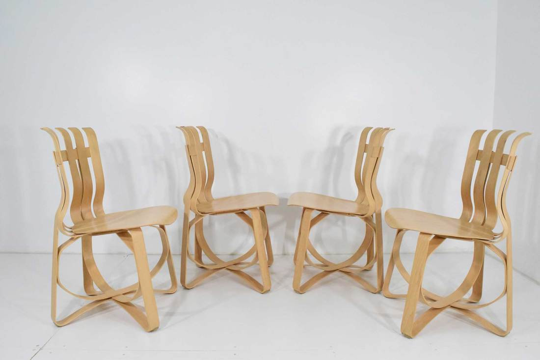 Frank Gehry Hat Trick Chairs by Knoll | circa20c