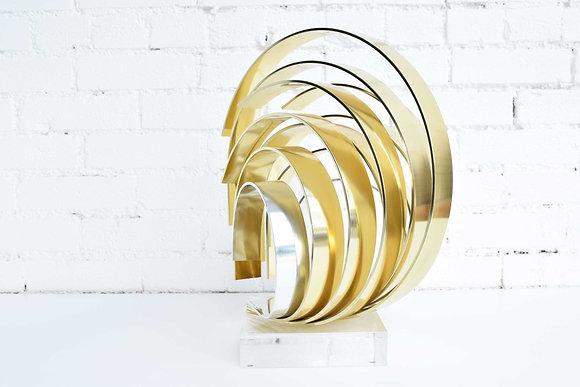 Dan Murphy Signed Ribbon Sculpture dtd. 1991
